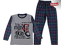 Пижамка для мальчика 4,5,6 лет. к.210326
