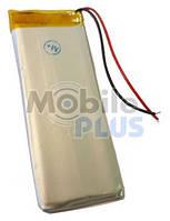Аккумулятор с контроллером универсальный 74mm * 28mm * 4mm (Li-ion, 3,7V, 750 mAh)