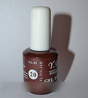 Гель-лак YRE №20, покрытие ногтей в домашних условиях