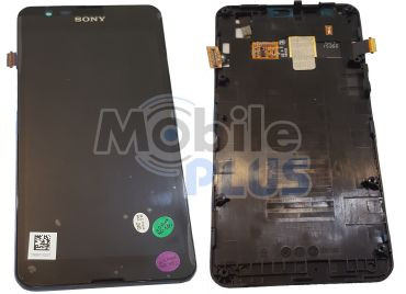 Sony E2003, E2006, E2033 Xperia E4g Передняя панель с дисплеем и сенсором, original (PN:78P8610001F)