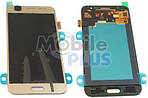 Samsung J500 Galaxy J5 Дисплейный модуль (дисплей с тачскрином), Gold, original (PN:GH97-17667C)