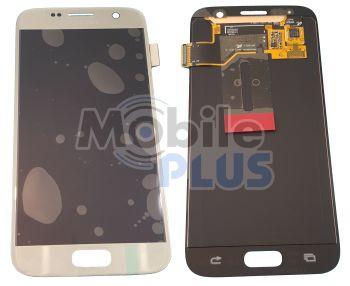 Samsung SM-G930F Galaxy S7 Дисплейный модуль с сенсором, Silver, original (PN:GH97-18523B)