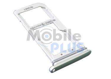 Samsung SM-G930FD Galaxy S7 Держатель SIM (2-SIM), Silver, original (PN:GH98-38917B)
