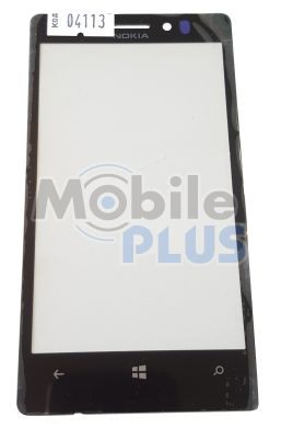 Стекло для Nokia Lumia 925 RM-910, RM-892 Black
