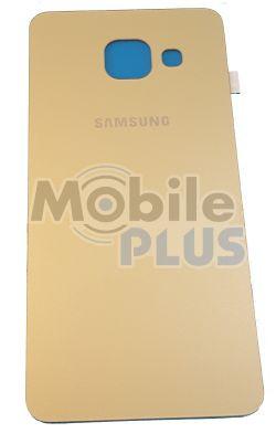 Батарейная крышка для Samsung A310, Galaxy A3 (2016) (Gold)