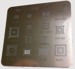 Трафарет BGA для Nokia C5/ C6-00/ X2 (A409)