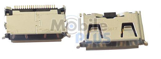 Системный разъём Samsung E1200i, E1202i, B5702, C3212, C5212, E1080, S5050, original (PN:3710-002683)