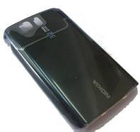 Nokia 6600slide Панель аккумуляторной батареи, Black, original (PN:0252582)