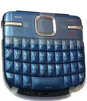 Nokia C3-00 Клавиатура набора номера RUS/ENG QWERTY, Blue, original (PN:9791W22)
