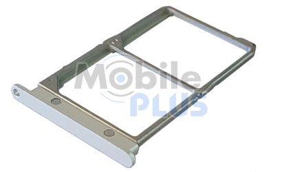 Держатель Sim-карты (holder) Lenovo Vibe Shot Z90 Silver