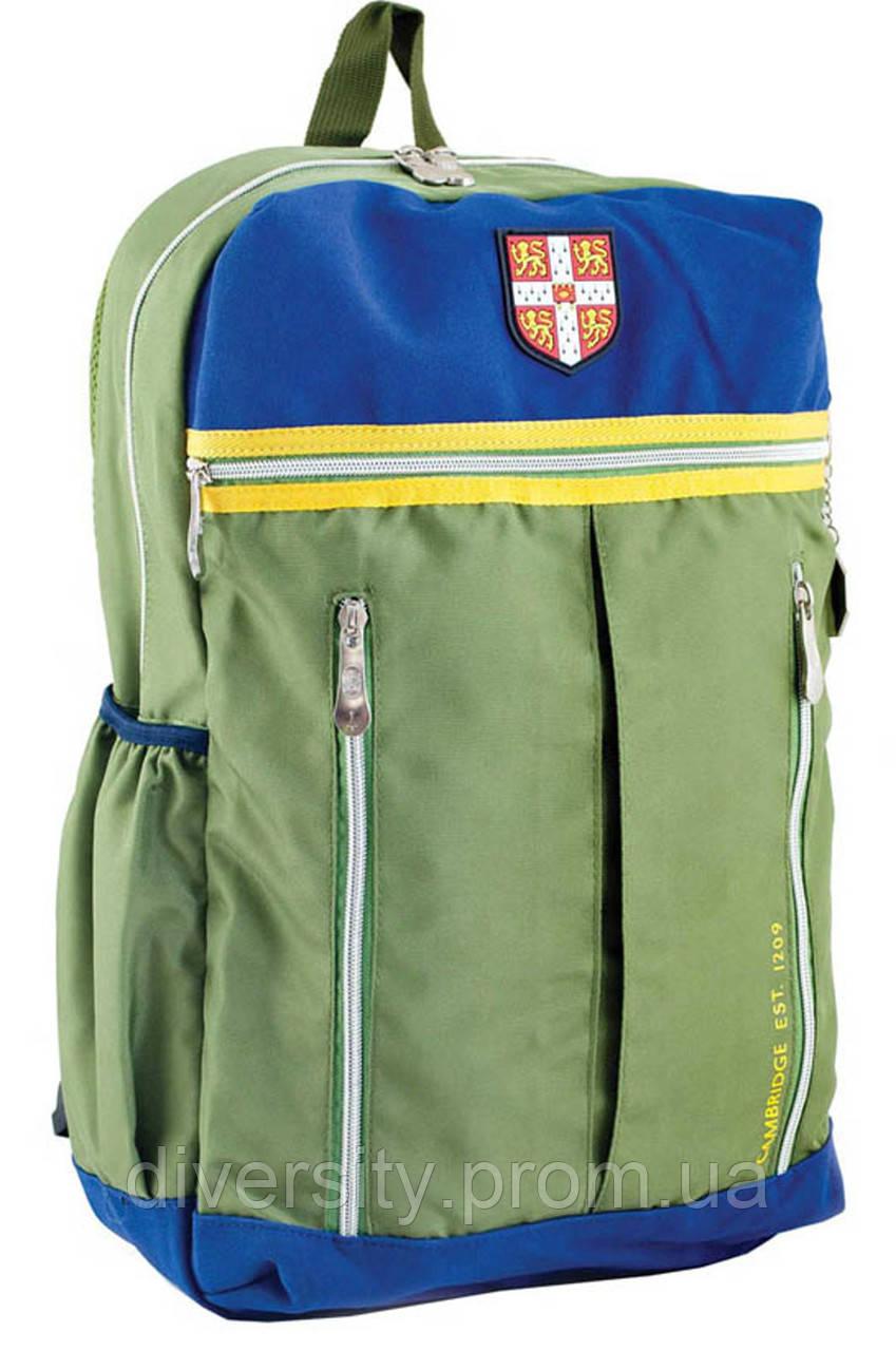 Ранец подростковый CA 095, зеленый, 28*45*11