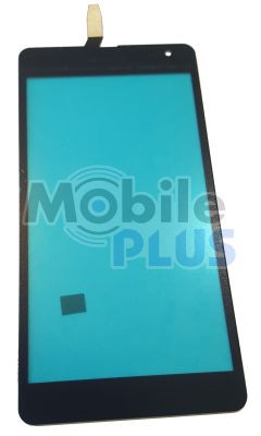Сенсорный экран (тачскрин) для Nokia 535, Microsoft 535, RM-1089, RM-1090, RM-1091, RM-1092 Black (Model:
