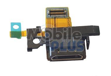 Разъем MicroUSB Sony Xperia XA F5121, F5122 со шлейфом, original (PN:1298-3580)
