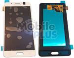 Samsung J510 Galaxy J5 2016 Дисплейний модуль (дисплей з тачскріном), White, оригінал, GH97-19466C