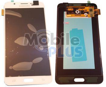 Samsung J710 Galaxy J7 2016 Дисплейный модуль (дисплей с тачскрином), White, original (PN:GH97-18855C)