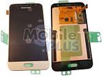 Samsung J120 Galaxy J1 2016 Дисплейный модуль (дисплей с тачскрином), Gold, original (PN:GH97-18224B)