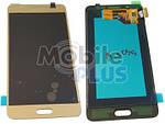 Samsung J510 Galaxy J5 2016 Дисплейний модуль (дисплей з тачскріном), Gold, оригінал, GH97-19466A