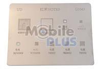 Трафарет BGA для Qualcomm PM8956, PM8952, PM28952, WCN3680B, BQ74296M, WCN3615 (G1043)