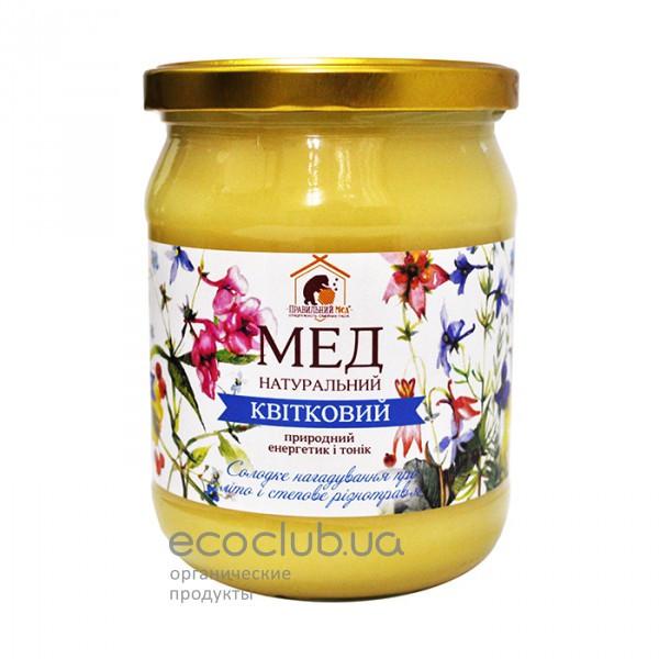 Мед цветочный Пасека Правильный мед 700г