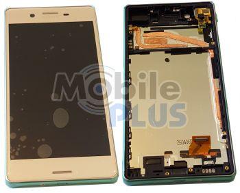 Sony F5121, F5122 Xperia X Дисплейный модуль с сенсорным экраном и передней панелью, Rose, original