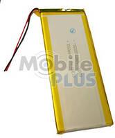 Аккумулятор с контроллером универсальный 135mm * 55mm * 3mm (Li-ion, 3.7V, 2700 mAh)