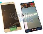 Samsung SM-A700F Galaxy A7 Дисплейний модуль c сенсорним екраном, Gold, original (PN:GH97-16922F)