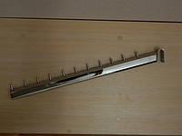 Флейта прямая овальная с наклоном на овальную перемычку