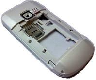 Nokia C3-00 Средняя часть корпуса в сборе, White, original (PN:0257698)