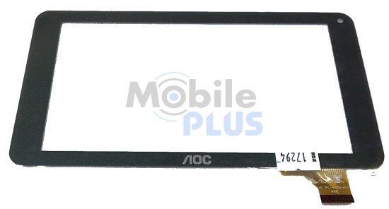 Сенсорный экран (тачскрин) для планшета 7 дюймов Assistant AP-722, AP-714 (Model: 70PW86V) Black