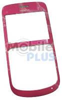 Стекло для Nokia C3 с передней панелью Pink