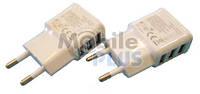 Сетевое зарядное устройство Travel Adapter на 3 USB (1A) выход вбок