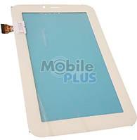 """Сенсорный экран (тачскрин) для планшета 7"""" Sanei N70 3G (Model: TPC-0649) White"""