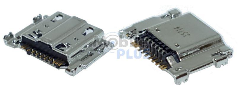 Разъем MicroUSB Samsung i9300i, SM-T810, T815, original (PN:3722-003761)