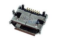 Разъем MicroUSB Samsung S8530, S8500, M8910, B7300, original (PN:3722-002919)