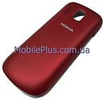 Nokia 202 Крышка аккумулятора, Dark Red, original (PN:9447732)