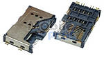 Роз'єм для SIM-карти Lenovo A60, P70, P700I, A789, A65, Fly DS125