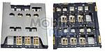 Разъем SIM-карты Sony LT26i