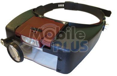 Очки Линза налобная (бинокуляр с увеличением 1,5x. 3x, 8,5x, 10x) MG 81007-А