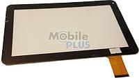 Сенсорный экран (тачскрин) для планшета 10,1 дюймов Ampe A10 (Model: DH-1019A1-PG-FPC075) Black