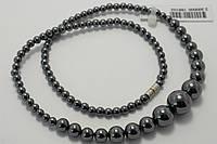 Женское ожерелье из гематита