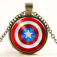 Мужской кулон на шею American Captain