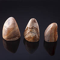 Камень натур. Яшма пейзажная  Сувенир, на вес