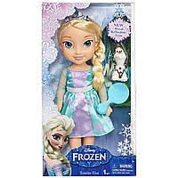 Кукла-малышка Эльза c блестящими глазами от Дисней (оригинал) - Toddler Elsa, Royal Reflection Eyes, Disney