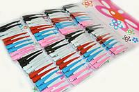 Разноцветные зажимы заколки для волос упаковка 80 шт.