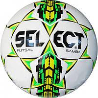 Мяч для футзала Select SAMBA (белый) №4 PU FB-4765-W