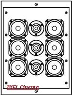 Artcoustic SL 40-30 6-3 - Настенная акустическая система, фото 1