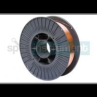 Омедненная сварочная проволока 1,0 мм 5 кг GRADIENT ER70S-6
