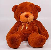 Плюшевый медведь Тедди 200 см Коричневый