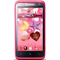 "Lenovo S720 MTK6577 4.5"" Розовый, фото 1"