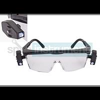 Очки защитные с подсветкой KWB 947690